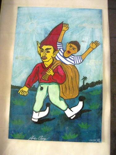 """""""Los Duendes"""" (The Goblins) by Mario Cruz Sanchez - Casa de Cultura in Leon, Nicaragua (ashabot) Tags: art paintings leon nicaragua casadecultura losduendes mariocruzsanchez"""