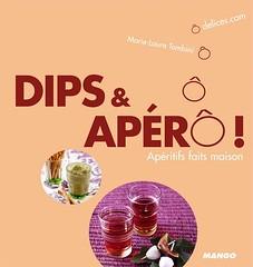 Dips et Apero de Marie Laure Tombini et Vanessa Romano