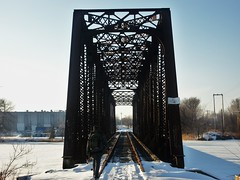 The Old Tressel (dustinsimmonds) Tags: winter minnesota little falls stephen mn tressel marquedant