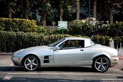 Qvale Mangusta (Car-parazzi) Tags: california cars creek cross stripe fast convertible run ferrari malibu missile carbon fiber limited scuderia f430 scud rossa 16m mangusta qvale edtion carparazzi