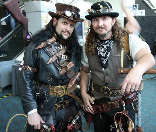 Steam Punk costumes