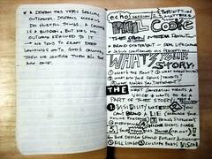 Echo '09 Sketchnotes - Phil Cooke (Joshua Blankenship) Tags: moleskine sketchnotes echo09 philcooke