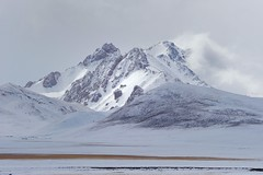 Snow Mountain,Tibet, (reurinkjan) Tags: snow weather tibet amdo 2009 snowmountain madol tibetanlandscape visipix        janreurink