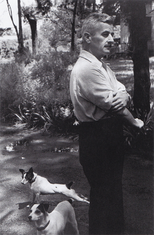 10 William Faulkner, Oxford, Mississippi. 1947
