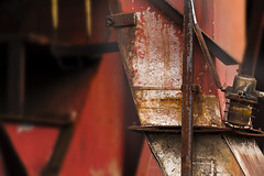 Kokerei (Pieter Musterd) Tags: orange abstract canon germany deutschland eos essen raw industrial chaos graphic photographic 5d ruhrgebiet chaostheory zollverein oranje duitsland kokerei industrieel industrieelerfgoed industriegebied chaostheorie freephotography canoneos5dmarkii pietermusterd vrijefotografie 5dmarkii cokesfrabriek
