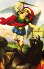St. Michael the Archangel with Devil (Restoring the Faith) Tags: angels angel archangel seruphim cherumbim heaven caelestial heavenly beatific choir