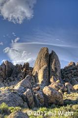 Alabama Hills Split Rock (Bill Wight CA) Tags: california pine alabama hills lone highsierra billwight copyright2011