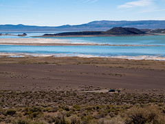 A Sense of Scale (Wicked Dark Photography) Tags: ca calfornia landscape monolake sierras blue car desert easternsierras island lake nature spring travel vacation view vista water