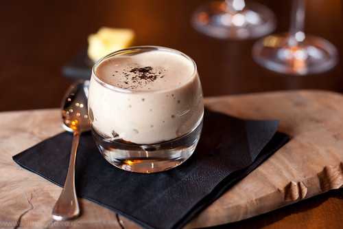 Alimentum - Mushroom veloute with Coffee