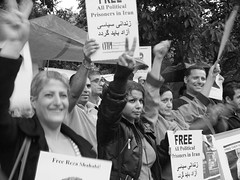 20th June 2011, International day of Action in Support of POLITICAL PRISONERS IN IRAN (paolo d photography) Tags: england london freedom iran protest embassy demonstration iranian iranianembassy supportfreedom 20thjune demostation hervoice internationaldayofaction morningmothersofiran nedaiamneda 16princesgate
