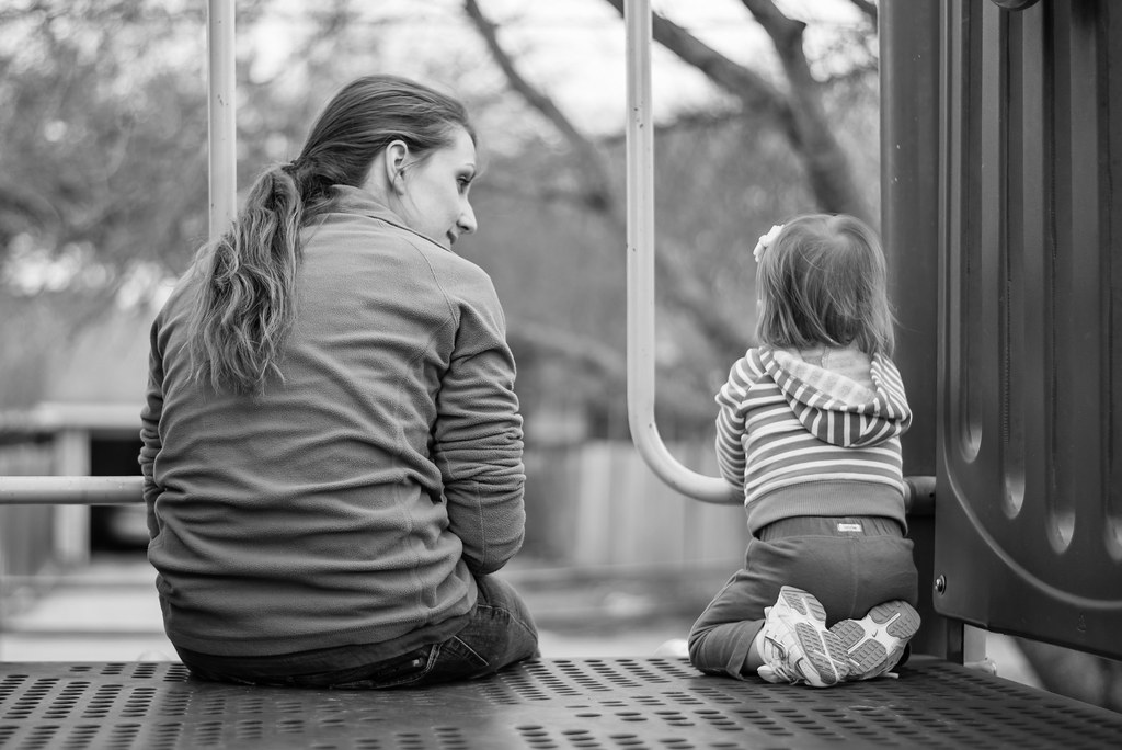 Mom and Daughter by donnierayjones, on Flickr