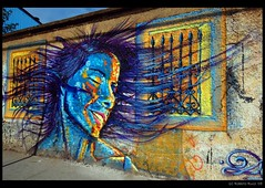 Street Art in Valparaso (B'Rob) Tags: chile street city travel blue light orange streetart color muro art tourism face true azul wall architecture hair photography valparaiso mar photo yahoo google arquitectura nikon paint flickr paradise via symbol cara picture ciudad tourist colores oxido best most graffitti wikipedia eden valparaso paraiso 1224mm hdr paraso valpo porteo mejor viadelmar chilean portea snopes vregion d40 brob edn brobphoto