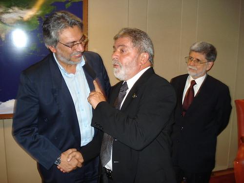 Lugo con Lula en Brasilia