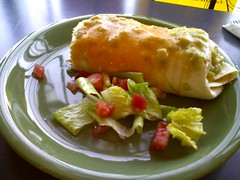 Breakfast burrito @ java joes
