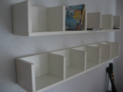 IKEA DVD Wall Shelves