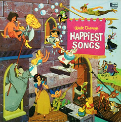 Happiest Songs (enso-on) Tags: music silly records children happy disneyland album vinyl disney songs waltdisney happiest