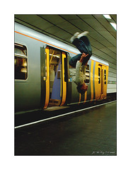 Flip (jimps123) Tags: street train liverpool underground subway 1 sony tube rail flip scouse a