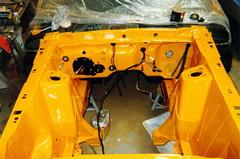 BLAM!!!!! How ya like me now?! (fatslick70) Tags: orange yellow mercury restoration musclecar 1970cougar