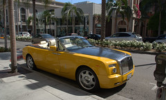 Rolls-Royce Phantom Drophead Coupe, Rodeo Drive, Berverly Hills