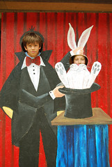 Andy the Magician and Peter Rabbit