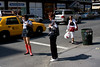 Hailing (invisibro) Tags: street nyc ny newyork hail socks canon cab taxi hdr hailing sigma30mmf14 40d eos40d