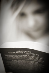 History (CrzysChick) Tags: bw history reading book dof diary books annefrank