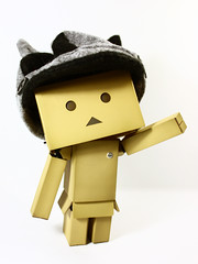 Hat on a board (cgines) Tags: toy revoltech 365toyproject danboard