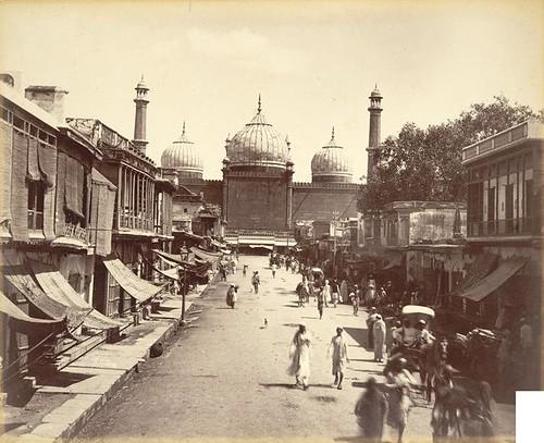 Jama Masjid Backview, Delhi (1880)