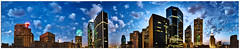 360 @ Dawn (Justin Terveen) Tags: street city urban moon skyline architecture skyscraper sunrise buildings grit dawn dallas cityscape texas skyscrapers metro panoramic dfw exploration dart ninjatune 360 swivel justinterveen wwwtheurbanfabriccom theurbanfabric urbanfabricphotography