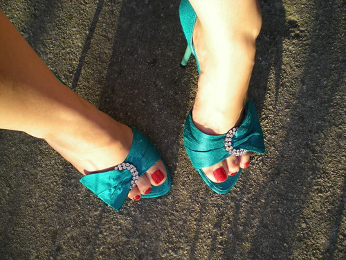 Shoes and sun
