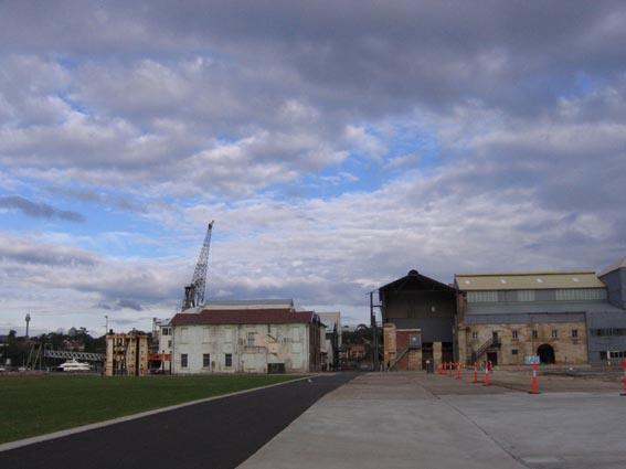cockatoo island_buildings & sky