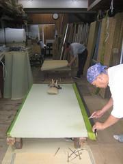 Making tatami