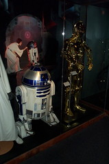 R2-D2 and C-3PO (FranMoff) Tags: boston museum starwars exhibit science r2d2 imagination meets c3po wheresciencemeetsimagination