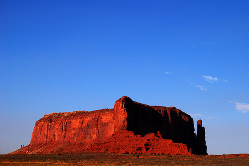Sunset at Monument Valley I