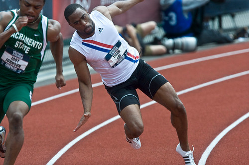 Tyson Gay out of 200 in Beijing. He'll still be in the 100, but it'll be one ...
