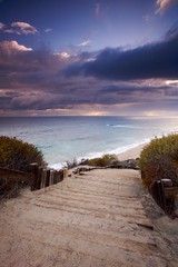 Old Stairway (Nick Carver Photography) Tags: ocean california park sunset sea summer usa cloud storm beach nature water vertical clouds stairs landscape outdoors coast landscapes us pacific nick stock stormy stairway carver wilderness southerncalifornia orangecounty crystalcovestatepark clearingstorm wildlifereserve natureparks nickcarver