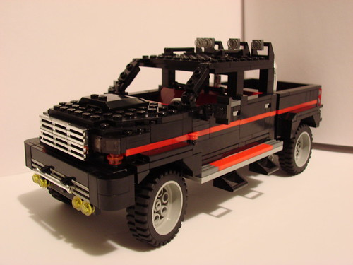 Lego Ford Inspired Hauln' Ass Truck by The Big Rafalski