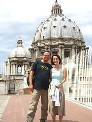Mau e Julia in San Pietro
