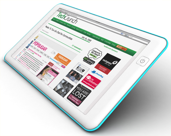 [Tweet] La tablette chez TechCrunch