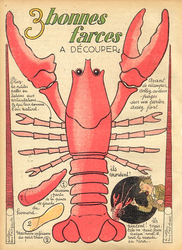 3 farces homard