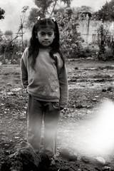 (Rai 幻の光) Tags: blackandwhite art film girl monochrome canon guatemala mayan 100 local canonet ql17 giii chs centralamerica pacaya centroamerica adox