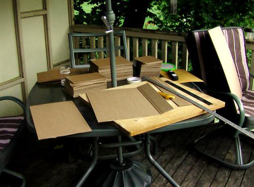 Cardboard Cutting