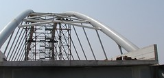Ponte strade in acciaio