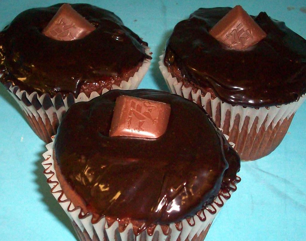 Cupcakes Chocolate Carmeliscious Truffle cupcakes