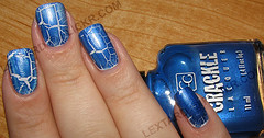 Cover Girl Crackle - Blue Moon (lextard) Tags: nailpolish bluemoon covergirlcrackle