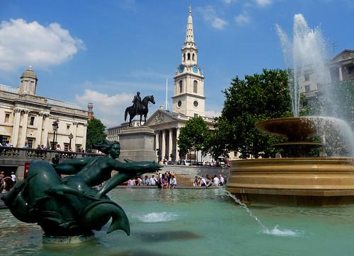 Trafalgar Square Londres monumento