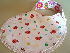 Ladybird front (O Sew Sweet by Keo) Tags: designer bibs