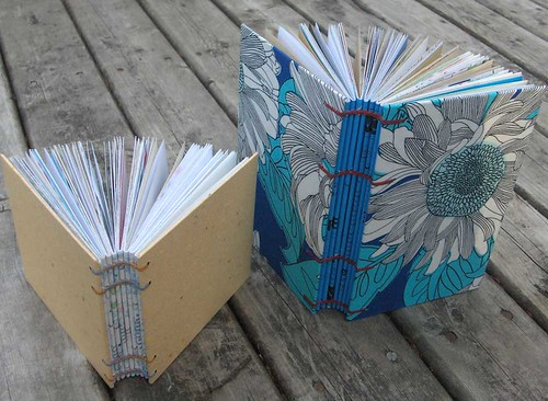 Recycled Handmade Journals