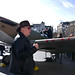 Dad in Trafalgar Square