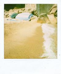 bagno 6: ficajola (mathias shoots analogue) Tags: analog polaroid corsica memories 600 analogue nophotoshop slr680 instantfun savepolaroid